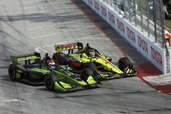 Charlie Kimball, Carlin Chevrolet Sébastien Bourdais, Dale Coyne Racing with Vasser-Sullivan Honda