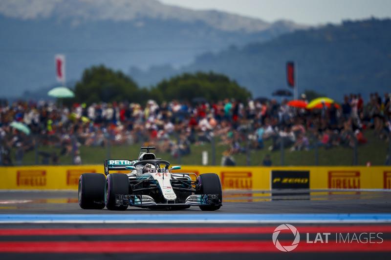 GP de France - Pole position