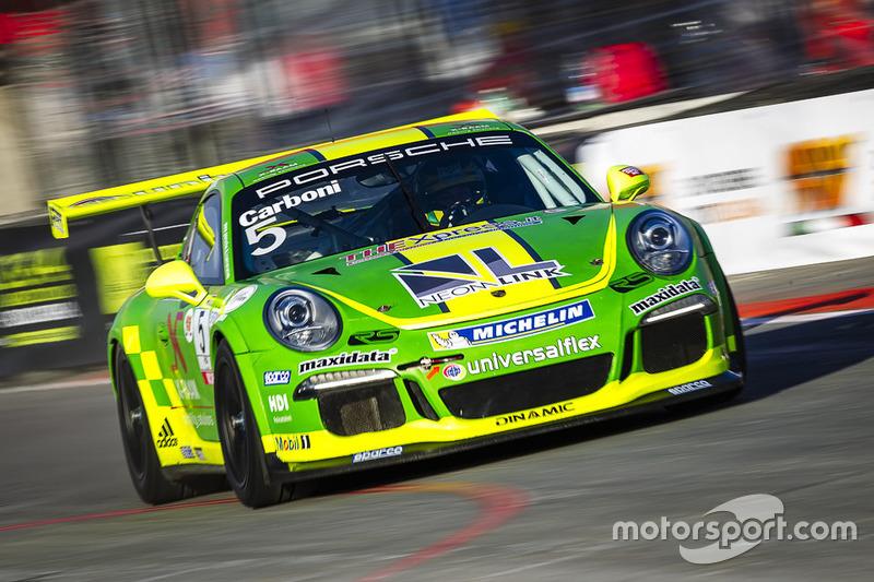 Gianluca Carboni, Porsche 911 GT3 Cup