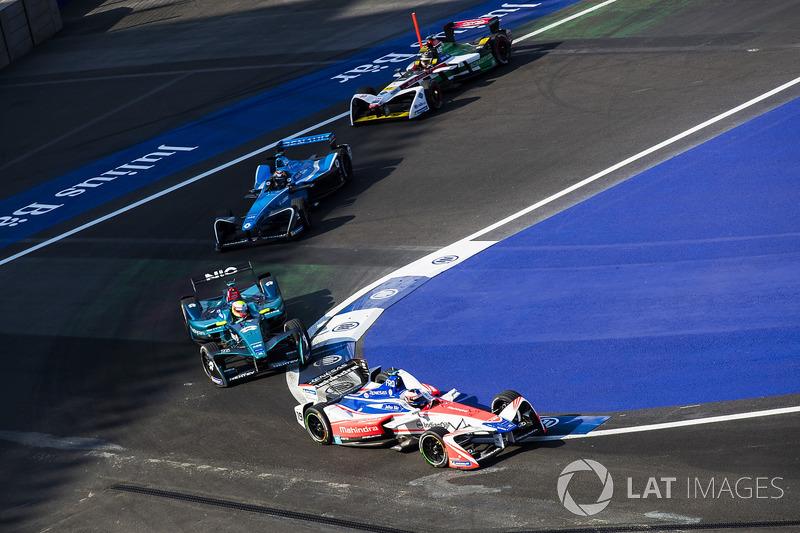 Felix Rosenqvist, Mahindra Racing, Oliver Turvey, NIO Formula E Team