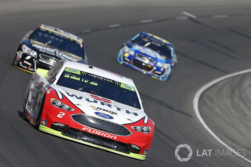 Brad Keselowski Team Penske Ford Bei Fort Worth 2 Nascar Cup Fotos