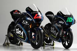 Sky Racing Team VR46 launch: Moto2 riders Francesco Bagnaia, Luca Marini
