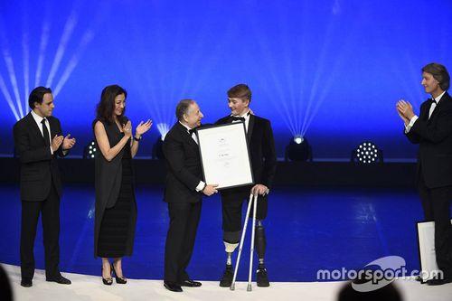 FIA prijsuitreiking