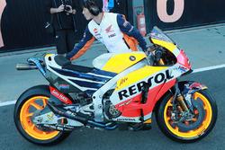 Moto de Marc Márquez, Repsol Honda Team