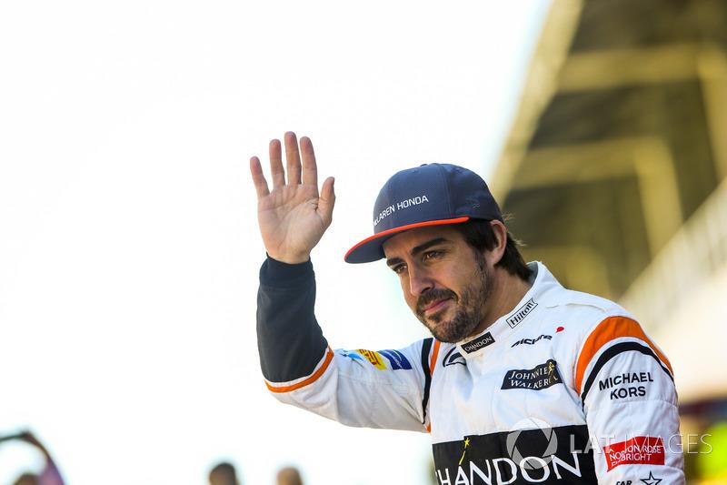 7: Fernando Alonso, McLaren
