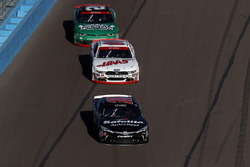 Christopher Bell, Joe Gibbs Racing Toyota, Cole Custer, Stewart-Haas Racing Ford