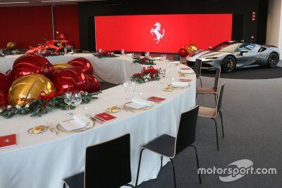 Ferrari Christmas lunch