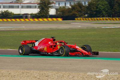 Journée de test de la Ferrari Driver Academy