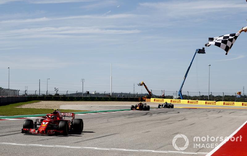 GP de Estados Unidos: Kimi Raikkonen