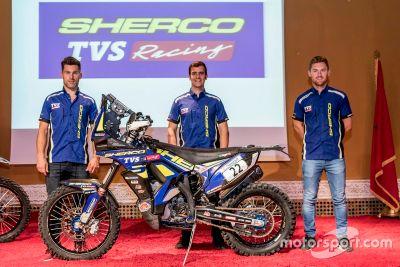 Sherco TVS rider announcement
