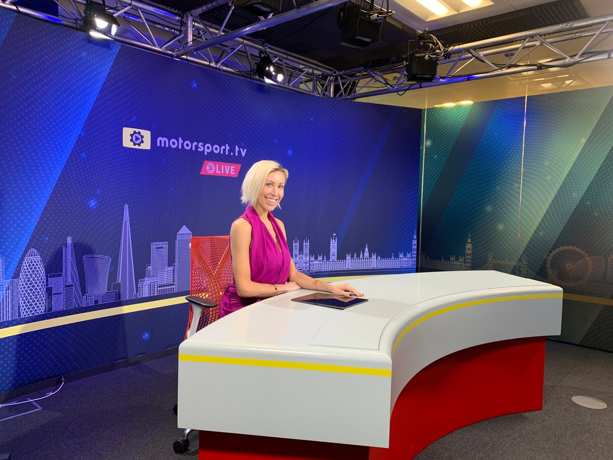 Rachael Downie joins Motorsport.tv Live news channel.