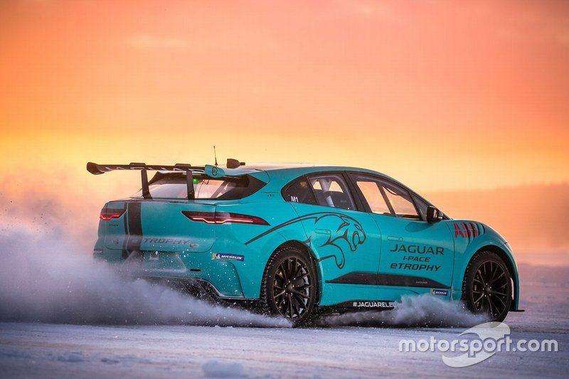 Nelson Piquet Jr. Arctic Circle testing