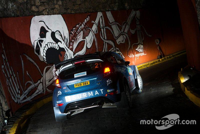 Lukasz Pieniazek, M-Sport Ford WRC2 PRO, Ford Fiesta R5