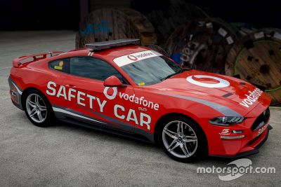 Safety car livery unveil