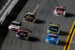 Aric Almirola, Ford, Justin Allgaier, JR Motorsports Chevrolet