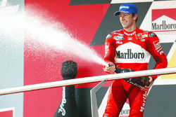 Podium: third place Troy Bayliss, Ducati Team