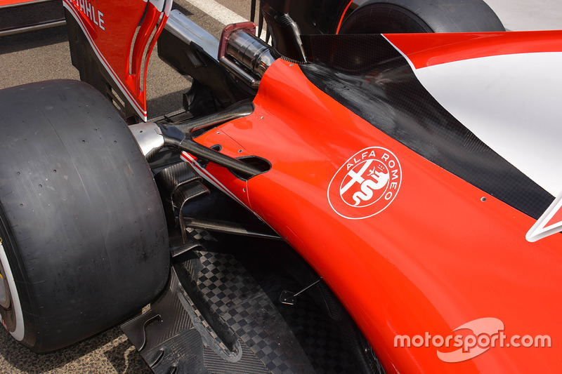 Задня частина Ferrari