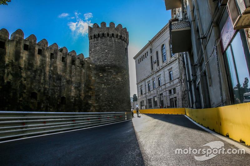 2016: Circuito de la ciudad de Bakú