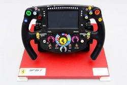 Amalgam Collection: Lenkrad des Ferrari SF15-T