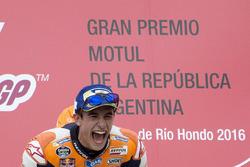 Podium: el ganador, Marc Márquez, Repsol Honda Team