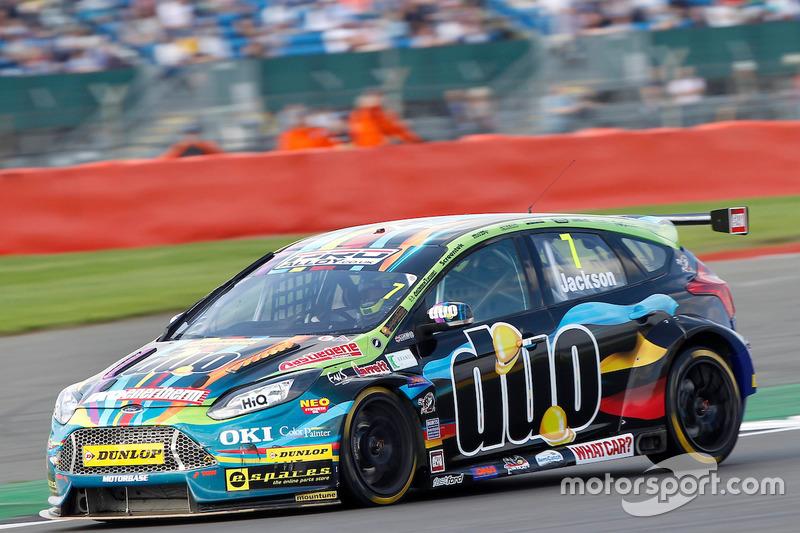 #7 Mat Jackson, Motorbase Performance, Ford Focus