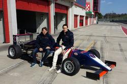 Andrea Montermini e Yan Shlom, RB Racing