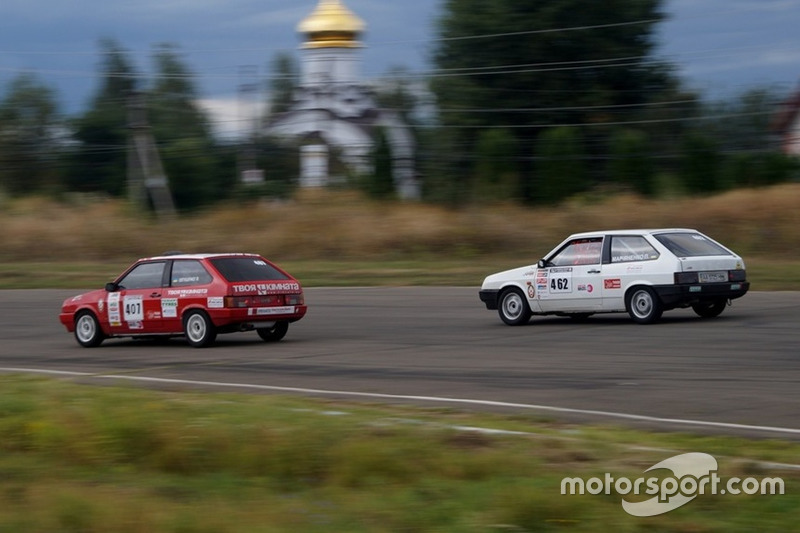 Євтущенко, Мар'яненко, гонка 1