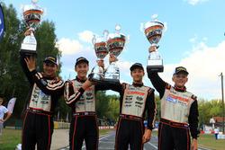 Die vier Champions des Jahres