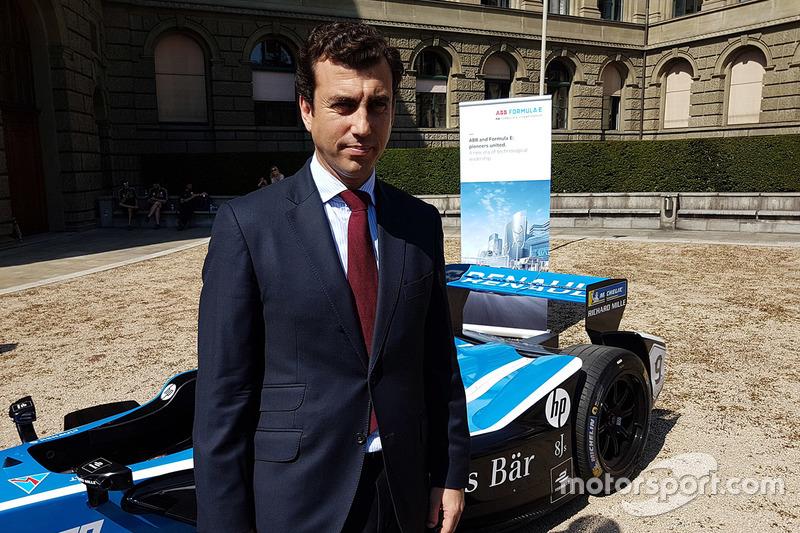 Alberto Longo, co-fondateur et chef de championnat, Formula E Holdings