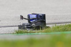 Detrito dell'ala anteriore di Brendon Hartley, Scuderia Toro Rosso STR13