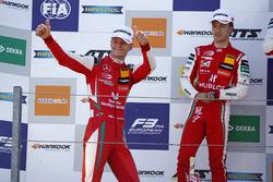 Podium: third place Mick Schumacher, PREMA Theodore Racing Dallara F317 - Mercedes-Benz