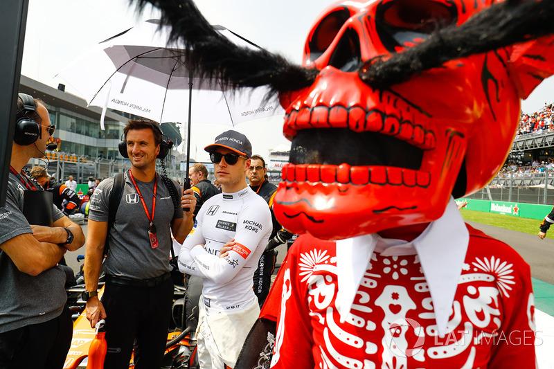Stoffel Vandoorne, McLaren y la Calavera