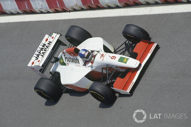 Derek Warwick, Footwork FA14