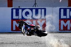 Choque de Scott Redding, Pramac Racing