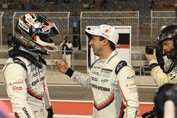 LMP1 pole sitters #1 Porsche Team Porsche 919 Hybrid: Neel Jani, Nick Tandy
