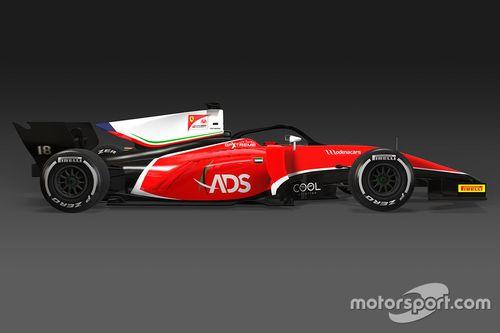 Anuncio Charouz Racing System y Louis Deletraz