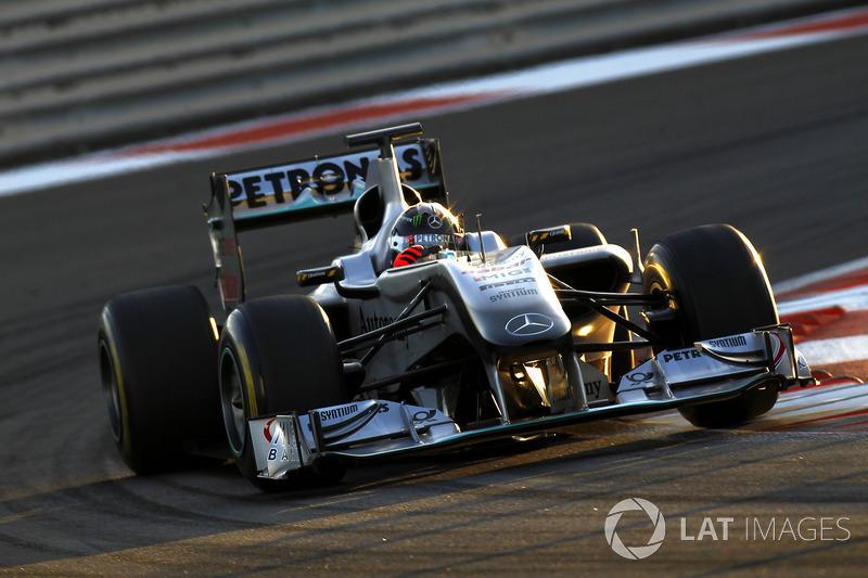 Michael Schumacher, Mercedes GP W01