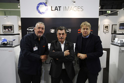 Steven Tee with Rainer Schlegelmilch and Mark Sutton on the LAT stand