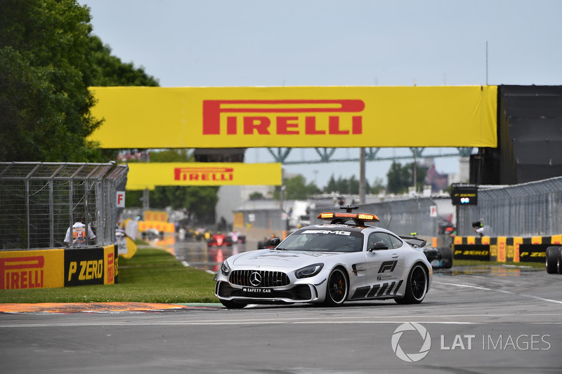 Safety car leads