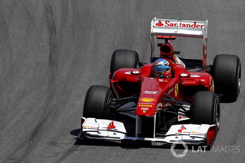 2011 : Fernando Alonso, Ferrari 150° Italia