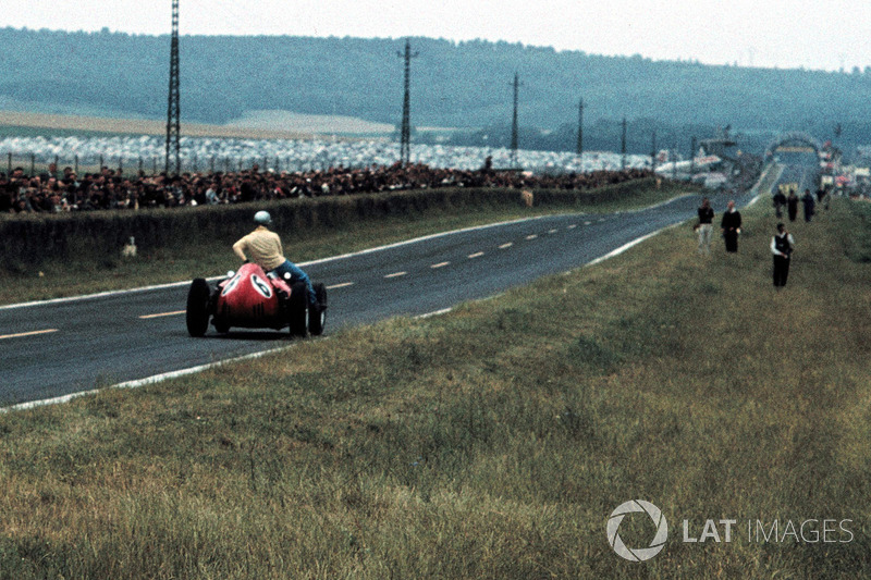 Reims 1960 : Willy Mairesse (Ferrari) ramène Tony Brooks (Vanwall)