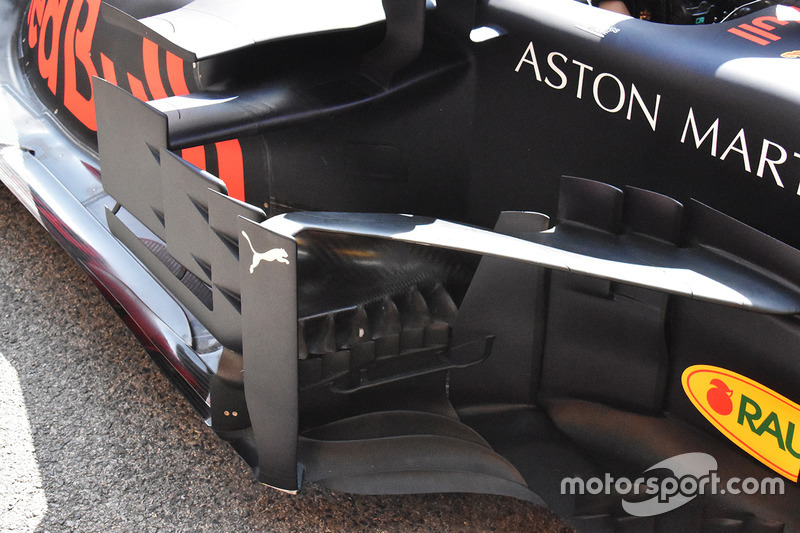 Bargeboard del Red Bull Racing RB14