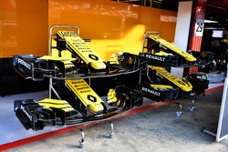 Renault Sport F1 Team R.S. 18 nose and front wings