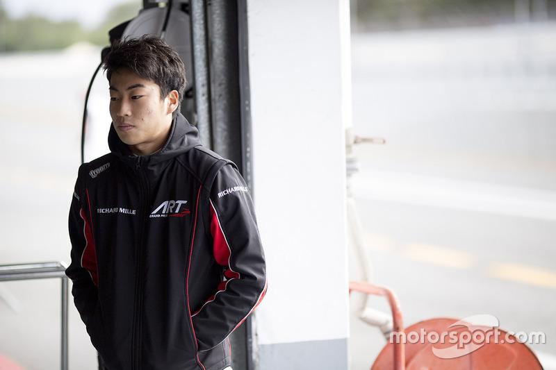 Nirei Fukuzumi, ART Grand Prix