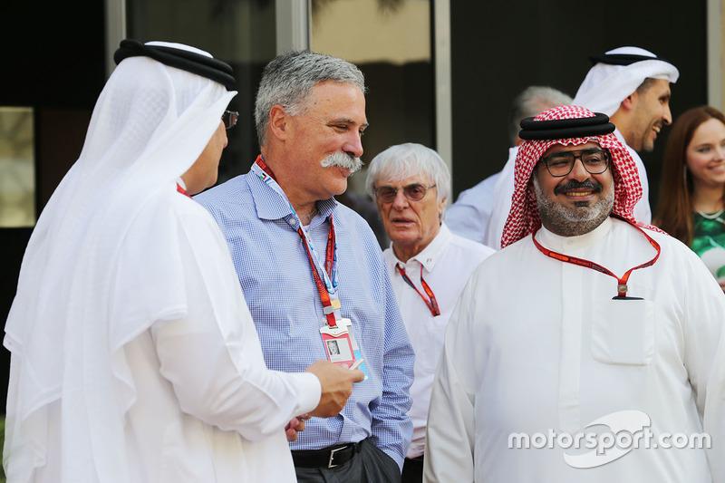 El Jeque Mohammed bin Essa Al Khalifa, Director Ejecutivo de la Junta de desarrollo económico de Bah
