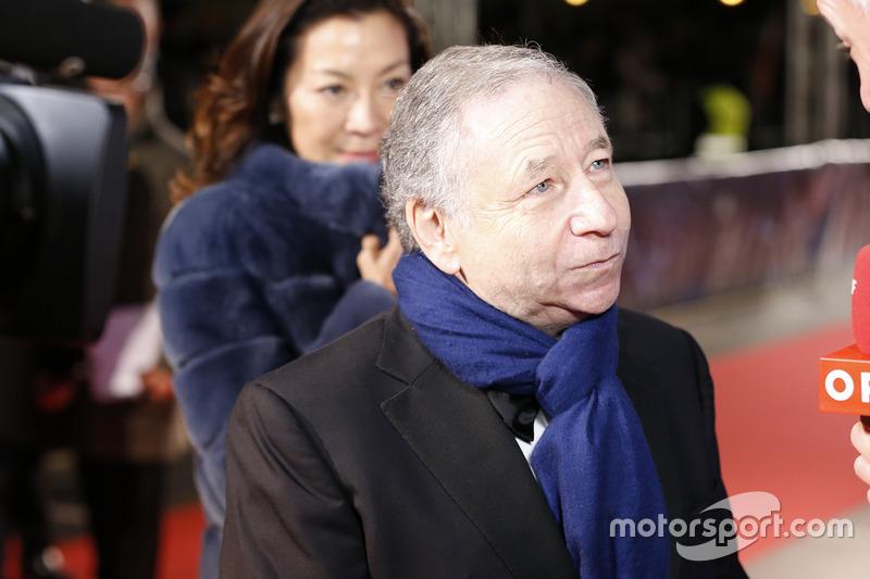 Presidente de la FIA Jean Todt
