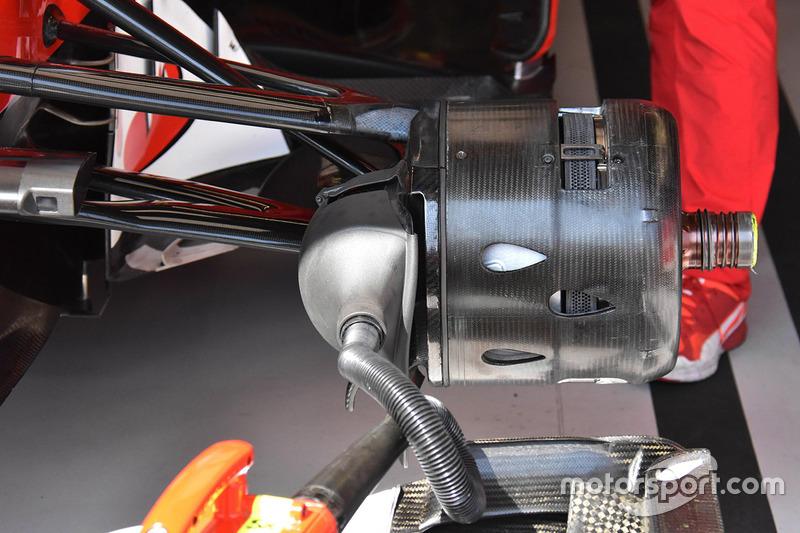 Передні гальма Ferrari SF70-H