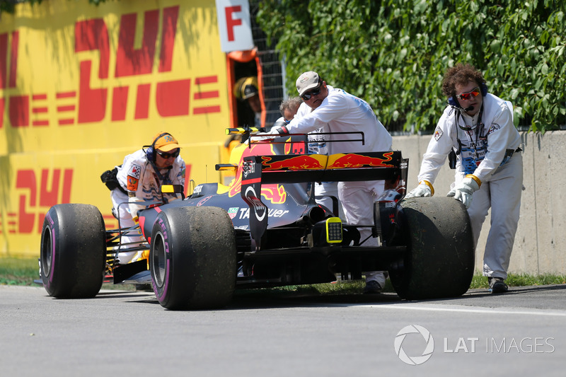 Auto von Max Verstappen, Red Bull Racing RB13