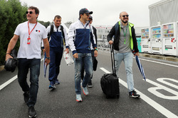 Felipe Massa, Williams and brother Dudu Massa
