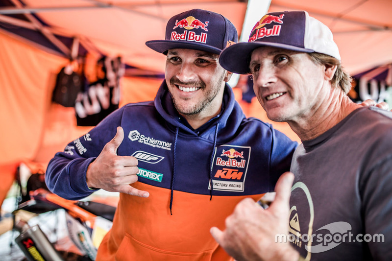 Robby Naish, Sam Sunderland, Red Bull KTM Factory Racing